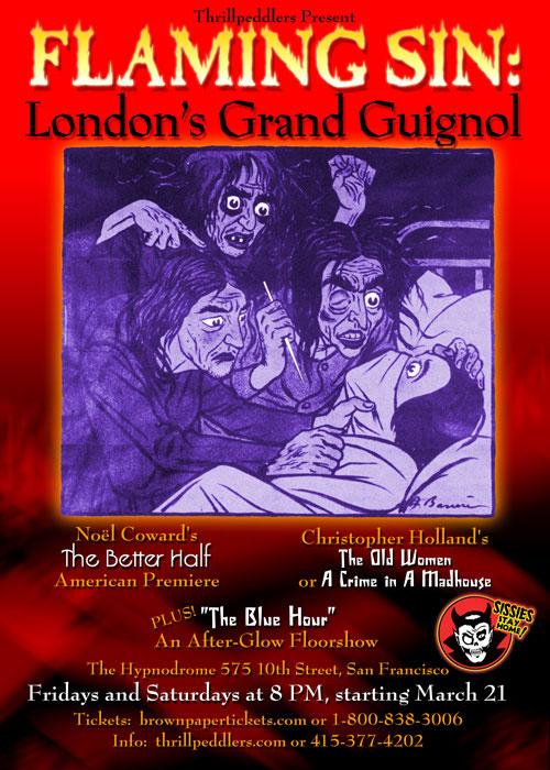 Flaming Sin: London's Grand Guignol